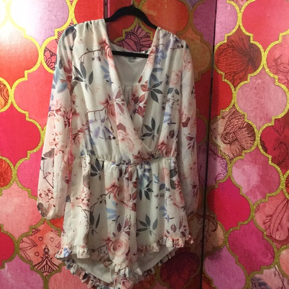 7237a5f68579 J for Justify Other - Floral Romper XL NWOT   extra large   Closet Sale
